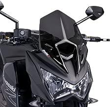 grandezza media colore: grigio fumo scuro Puig 6401F Parabrezza per Kawasaki Z800 2013-2014