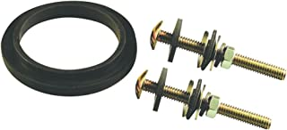 Danco 88359 Tank To Bowl Repair Kit, For Use With Eljer Toilets, 5/16 In Dia X 3-1/4 In L, Black