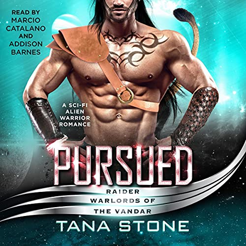 『Pursued: A Sci-fi Alien Warrior Romance』のカバーアート