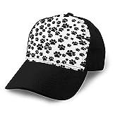 Hip Hop Gorra de béisbol Sombrero de ala Plana Ajustable Outdr Sport Gorra de béisbol Unisex Animal Print Background Isolated Icon Sombreros de Camionero