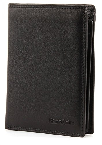 Samsonite Attack Coin Wallet with extra Flap Black