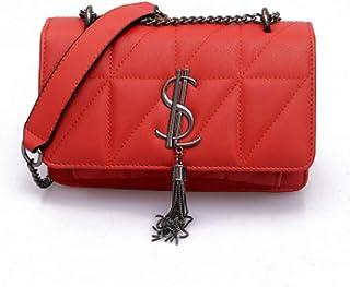 6b143d1ed6 YYwangpu, Pochette pour femme rouge rouge 22.5 * 8 * 15cm