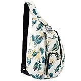 Best Sling Backpacks - KAMO Sling Backpack - Travel Rope Bag Crossbody Review