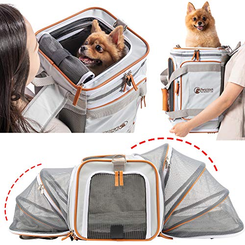 Peticious Airline Approved Soft Unique Backpack