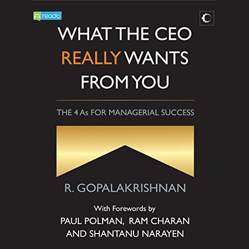 What the CEO Really Wants from You audiobook cover art