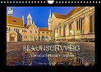 BRAUNSCHWEIG - Abendliche Impressionen (Wandkalender 2022 DIN A4 quer): Perle im Suedosten Niedersachsens (Monatskalender, 14 Seiten )