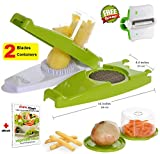 Ohana Magic French Fry Cutter Chopper for Vegetable Onion Food Fruit...