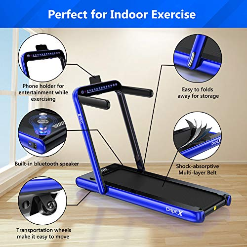 Dripex Folding Treadmill