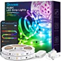 Govee 32.8Ft LED Strip Lights App Control, Bluetooth Light Strip with Segmented Color Control and Smart Color Picking, Dreamcolor Music Sync Led Lights for Room, Bedroom, Kitchen, Christmas Decoration