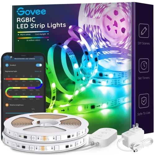 Govee 32.8ft LED Strip Lights RGBIC App Control