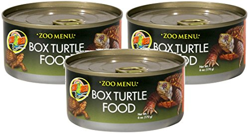 Zoo Med Box Turtle Wet Food, 6-Ounce (Pack of 3)