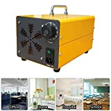 FXQIN Generador De Ozono 10000mg/h para Uso Doméstico con Temporizador, Portátil Purificador De Aire De Ozono ionizador de Aire para Hogar, Oficina, Humo,Automóviles y Mascotas