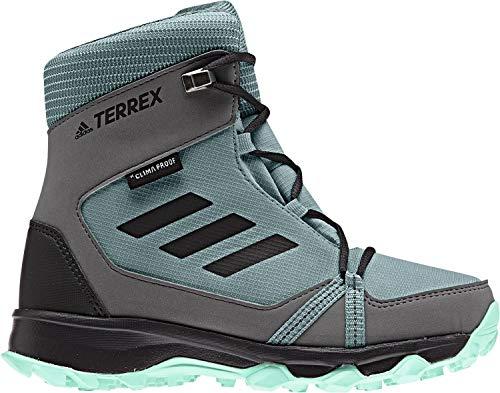 adidas Unisex-Erwachsene Terrex Snow CP Climawarm Trekking- & Wanderstiefel, Grün (Vernat/Carbon/Mencla 000), 38 2/3 EU