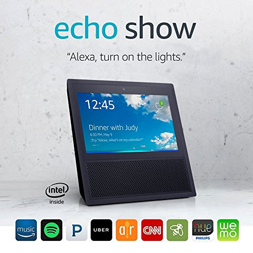 Echo Show - 1st Generation Black