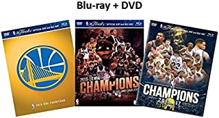 Ultimate NBA Rivalry Collection: Cavs vs. Warriors - 2015-2016 Champions Golden State Warriors / 2016-2017 Champions Cleveland Cavaliers / 2017-2018 Champions Golden State Warriors [DVD & Blu-ray Com