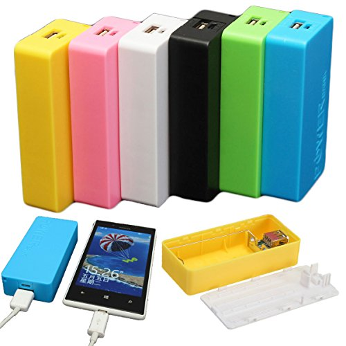 EsportsMJJ 5600Mah 2X18650 USB Power Bank Charger Caso DIY Box voor iPhone Sumsang