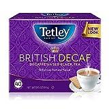 Tetley British Blend Decaffeinated Black Tea, 40 Tea Bags