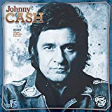 Johnny Cash 2020 12 x 12 Inch Monthly Square Wall Calendar by Merch Traffic, Music Pop Country Singer Songwriter Celebrity