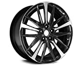 Partsynergy Replacement For New Aluminum Alloy Wheel Rim 19 Inch Fits 2018 Toyota Camry 5 Lug 5-114.3mm 20 Spokes