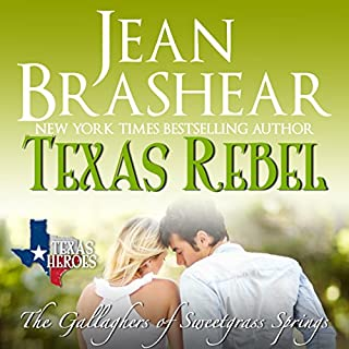Texas Rebel audiobook cover art