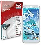 atFolix Schutzfolie kompatibel mit General-Mobile GM 8 Folie, ultraklare & Flexible FX Bildschirmschutzfolie (3X)