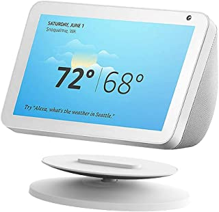 Adjustable Stand Magnetic Holder for Echo Show 8 and Echo Show 5 ,360 Degree Rotation Echo Spot Mount Table Holder for Ama...