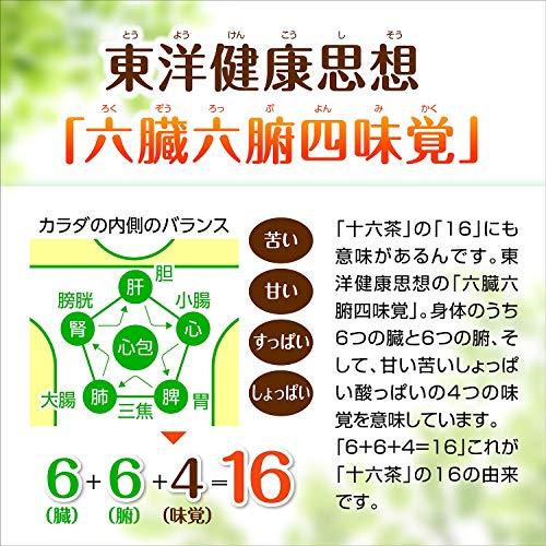 『アサヒ飲料 「アサヒ 十六茶プラス」3つのはたらき お茶 2000ml ×6本 デカフェ・ノンカフェイン』の5枚目の画像