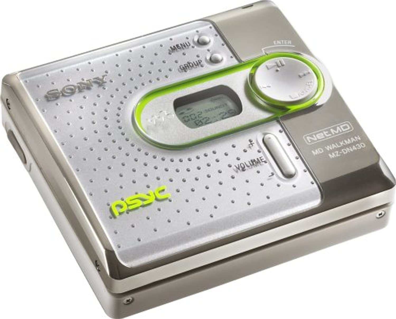 Sony MZDN430PSWHI Psyc MiniDisc Network Walkman (White)