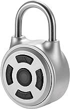 KKmoon Intelligence Keyless Padlock Password Unlock Anti-Theft Padlock iOS/Android APP for Door Luggage Case,Bike