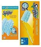 Swiffer Duster XXL Kit con 1 Manico e 2 Ricambi più 10 ricambi