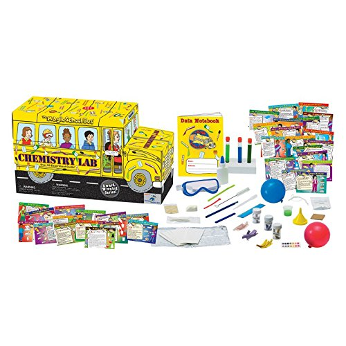 The Magic School Bus Lab Series - Chemistry Lab Including...