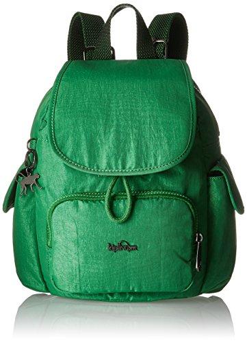 Kipling - City Pack Mini, Mochilas Mujer, Grün (Wild Greeny), 27x29x14 cm...
