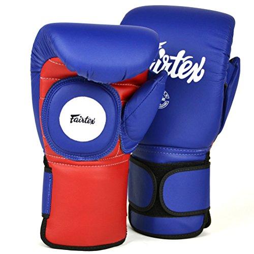 Fairtex BGV13 - Guantes de boxeo de microfibra para Muay Thai Boxing,...