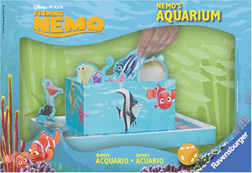 Ravensburger - Disney Findet Nemo - Nemos Aquarium, Tastspiel