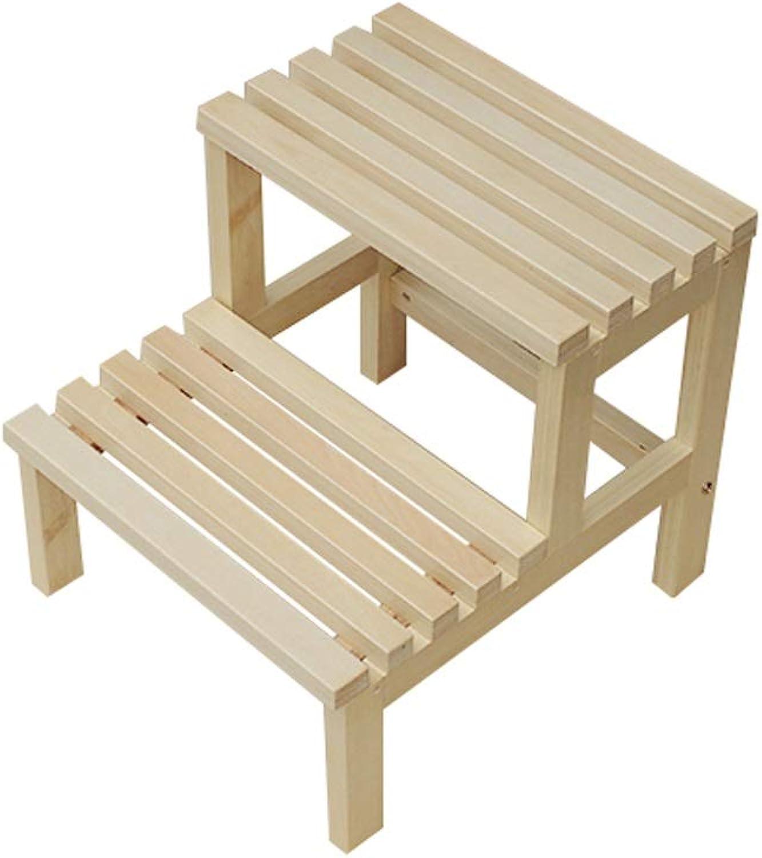 Step Step Step Stool Wooden - Schritt Hocker Massivholz Mehrzweckleiter Leichtes Regal für Home Library Loft Kitchen Welcome B07P4M6FHF | Reparieren  0ae249