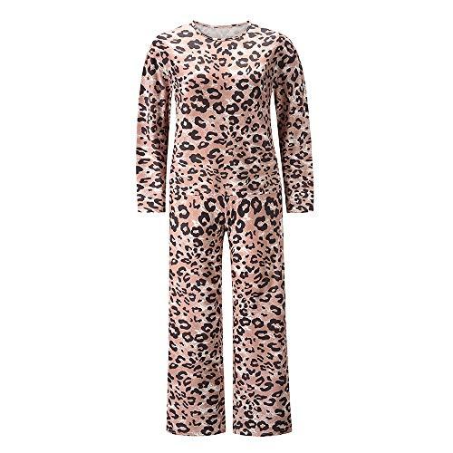 YMMONLIA Dome Mono de Mujer con Estampado Floral de Manga Larga para Verano ,Pantalones Largos de Cintura Suelta con Bolsillos
