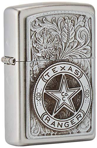 ZIPPO 2005729 originele benzine aansteker chroom, zwart