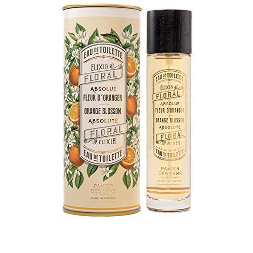 Panier des Sens Eau de Toilette, Parfum Fleur d'Oranger - Made in France - 50ml