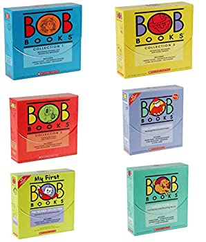 BOB Books All Collection Box Set  Collection 1 Collection 2 Collection 3 My First Pre-Reader Sight Words Collection 6