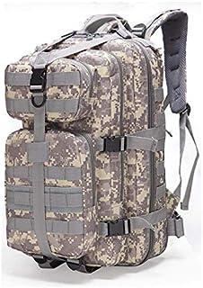 Daozea Ataque táctico mochila militar ventilador al aire libre mochila de senderismo impermeable mochila de camuflaje bolsa 35L mediano paquete 3P