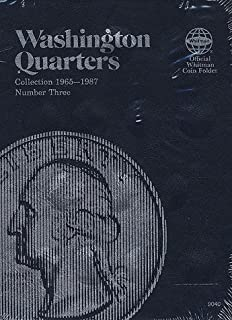 Washington Quarters: Collection 1965-1987, Number Three: 3 (Official Whitman Coin Folder)