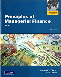 Principles of Managerial Finance, Brief: International Edition