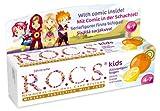 ROCS Kinder Zitone + Orange + Vanille Zahnpaste 45 Gramm -