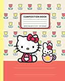 """Hello Kitty Composition Notebook: Back To School Ruled Practice Notebook for Students, Teacher, Children 
