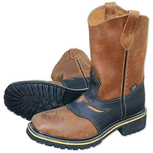 STARS & STRIPES Herren Stiefel Worker Boots »WB-32« Braun/Schwarz Gr.46
