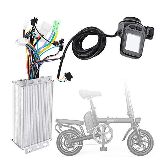 mi-Bicicleta Controlador, Ligero Motor Sin escobillas Controlador Rueda Diámetro con El plastico y LCD y Metal Iluminar Desde el Fondo Brillo Nivel por Bicicleta Bicicleta Triciclo Scooter