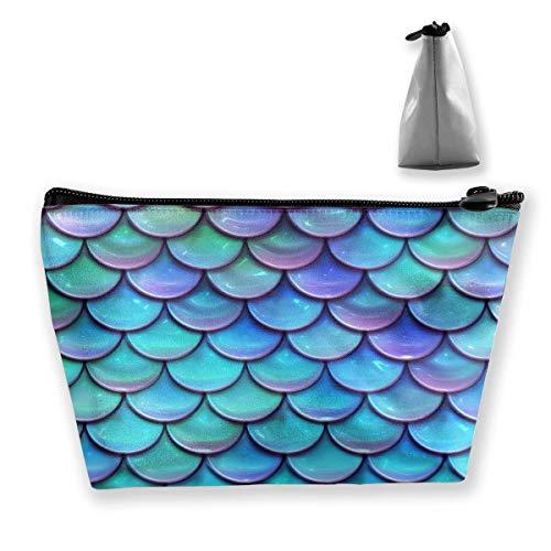 Mermaid Tail Portable Makeup Receive Bag Storage Large Capacity Bags Hand Travel Wash Bag