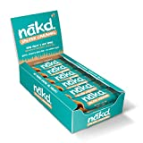 Nakd Salted Caramel Natural Snack Bars - Vegan Bars - Healthy Snack - Gluten Free Bars 35 g (Pack of...