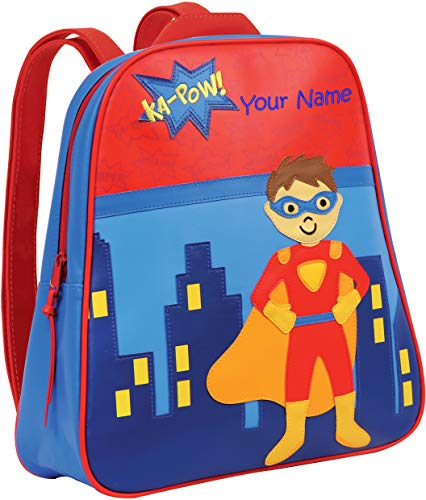 Personalized Stephen Joseph Superhero Go Go Backpack with Embroidered Name