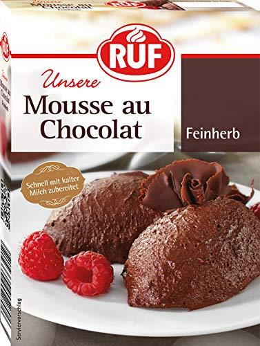 RUF Mousse au Chocolat Feinherb, 12er Pack (12 x 100 g)